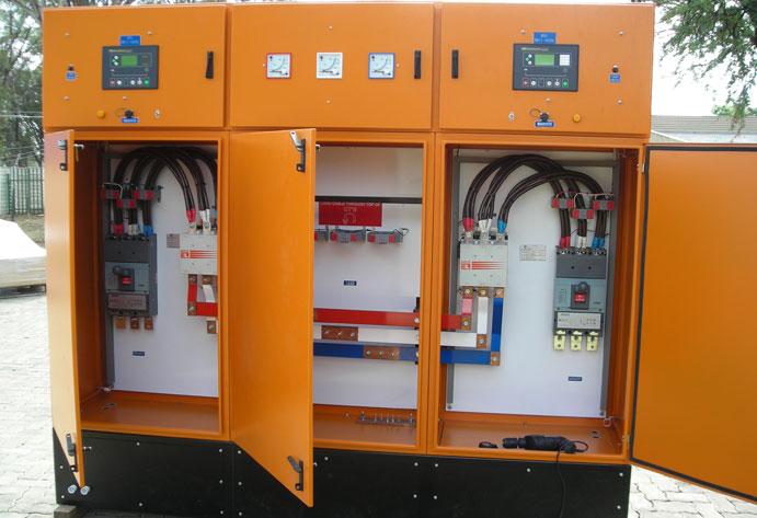 Diesel Generator Panel & Canopy